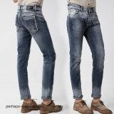 les hommes élastiques de jeans de la qualité 2016new amincissent le pantalon