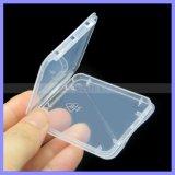 Caso tarjeta de memoria caja de la caja de plástico transparente Eco-Friendsly tarjeta CF