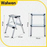 De Brandkast die van de hoogste Kwaliteit de Draagbare Ladder van de Stap van het Aluminium vouwen