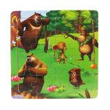 Kundenspezifisches Papierkarten-Puzzle