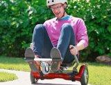 Hoverkart voor 2 rijdt Zelf In evenwicht brengende Autoped met het Zachte Elektrische Skateboard van de Staaf van het Handvat van de Veiligheid van de Zetel