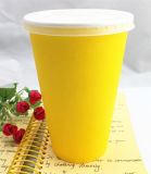 16oz Disposable Single Wall Paper Cup mit Lids