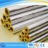 Manta de la fibra de vidrio con el papel de aluminio movido hacia atrás para la azotea y la pared