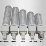 Qualité ampoule de maïs du G-24 LED de Dimmable de 360 degrés
