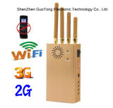 3G portatile Signal Jammer WiFi Signal Jammer Handheld Four Bands Cell Phone Signal Jammer WiFi Jammer