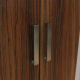 Gabinete da mobília da madeira contínua de projetos simples de gabinete de cozinha