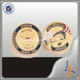 Amerikanische Polizeichef-Abzeichen-Antike-Münze