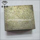 Het Segment van het Blad van de Zaag van de diamant voor Blok van het Graniet van het Knipsel het Malende (24X14.5X20mm)