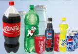 びん詰めにされたソーダ飲み物の充填機か装置または生産ライン