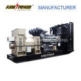 Generador diesel del alto voltaje 6300V de Perkins 1800kw con el certificado del Ce