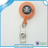 Bobine en acier lourde d'insigne de clé de passage avec le clip ceinture