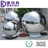Bola de acero inoxidable de la depresión del ornamento del jardín 316L del SUS 304