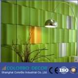 Classe um Fire Rated Decoration 3D Polyester Fiber Wall Panel