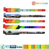 13.56MHz ISO1443A MIFARE EV1 Ultralight waterproof o wristband descartável do bracelete de RFID