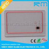 Tarjeta transparente sin contacto de la alta calidad 13.56MHz NFC RFID