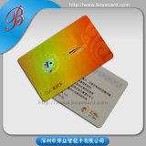 Impression Plastic Membership Card avec Big Embossed Number