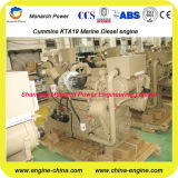 Motor diesel marina del motor marina de la eficacia alta Kt19-M470