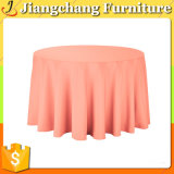 Nette Sahne gedrucktes runder Tisch-Tuch (JC-ZB03)