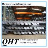barras planas de acero de carbón de la longitud Q345 de los 6m