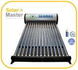 Calentador de agua de energía solar de la presión integrante