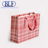 Bolso de totalizador impreso aduana rosada del papel de embalaje del color (BLF-PB350)