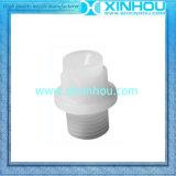 Bec de pulvérisation plat blanc anti-vieillissement de ventilateur de PVDF