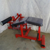Máquina horizontal carregada placa da onda de pé do equipamento da ginástica (XR750)