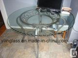 Ясная верхняя часть таблицы Kittchen Tempered стекла с Ce сертификата, SGCC