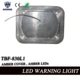 9 * 7 polegadas branco e amber Split Color Ambulance Surface Mount Warning Light (TBF-830L-E)
