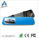"""4.3 """" des LCD-hinterer Spiegel-Auto-DVR Gedankenstrich-Nocken Auto-des Kamerarecorder-1080P mit Auto-Flugschreiber des Kamera-Fahrzeug-DVR"""
