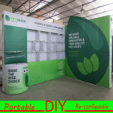 Modulaire Aluminium Trade Show Display stand d'exposition DIY personnalisée Portable