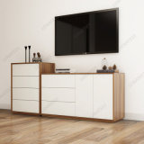 Bg01A Móveis para sala de estar Gabinete lateral com gavetas