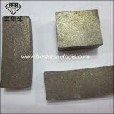 Этап лезвия алмазной пилы для блока гранита вырезывания меля (24X14.5X20mm)