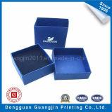 Crear el rectángulo de empaquetado del regalo para requisitos particulares rígido de papel de la cartulina