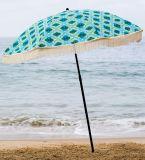 Strand Brella - Meermin 100% UV Alle Luxe Ontworpen Paraplu van het Strand met de Dragende Zak van de Douane, Lichtgewicht