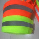 Bande r3fléchissante d'avertissement colorée de sûreté de vente chaude