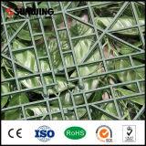バルコニーのために屋外装飾的な容易にアセンブルされた人工的な緑プラント