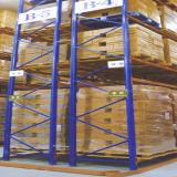 Стальные шкафы паллета хранения пакгауза с узким междурядьем