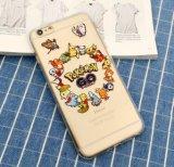 Nueva caja del teléfono móvil TPU de Pika Chu de la historieta para el iPhone