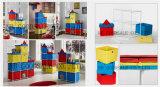 아이 사랑스러운 DIY 성곽 저장 상자 고정되는 선반--7PCS