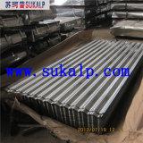 Hoja de acero acanalada del material para techos de 28 calibradores