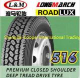305/70R19.5 langer März Roadlux Großhandelsradial-LKW-Gummireifen (LM516)