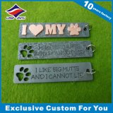 Preiswerte Großhandelsinner-Form-Hundeplakette