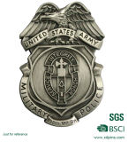 Customized Metal Military Police Badge para Emblema (XD-031114)