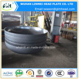 Protezioni di estremità semi ellissoidali di 2:1 del acciaio al carbonio per il serbatoio di acqua