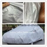 Cobertura de carro ao ar livre de tecido revestido de prata com alta resistência à água