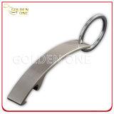 Anello chiave stampato & a resina epossidica di abitudine di marchio del metallo di bottiglia apri