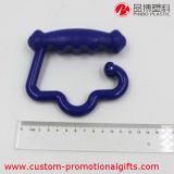 De kleine Plastic ABS Haak van de Zak van Kleren Plastic Hangende