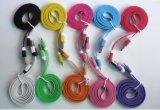 Cable plano de la forma de Noodel para el iPhone 6/iPhone 5