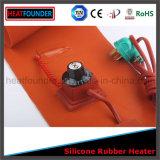 Calefator flexível da borracha de silicone